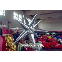 Wholesale Shiny Silver Inflatable Star Inflatable Led Light for Conferences from china suppliers