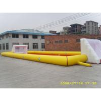 Wholesale Adult Large Inflatable Soccer Field / Fun Football Field Artificial Grass from china suppliers