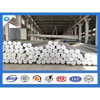 Wholesale 35FT 3mm Thick Q345 500KGF Load Galvanized Electric Steel Poles from china suppliers