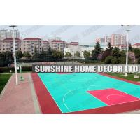 Wholesale Customized Gymnastics Modular Sports Flooring with Interlock System Environmental-friendly Flooring from china suppliers