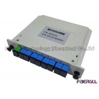 Wholesale EPON GPON BPON LGX type 1x8 Optical PLC Splitter Low Polarization Dependent Loss from china suppliers
