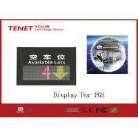 Wholesale One direction indoor LED display to the parking Guidance system to show the parking space from china suppliers