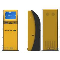Wholesale 17 Inch Pinpad Self Service ATM Bill Payment Kiosk Machine Yellow Color from china suppliers