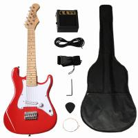 Wholesale Solidwood 31 inch Fender Electric Toy Guitar ST Style for Children from china suppliers