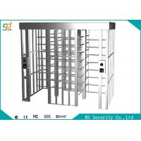 Wholesale Stainless Steel Full Height Turnstiles Bi-direction Access Control Gate Turnstile from china suppliers