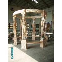 Quality Six Columns Carved Marble Arbour, Gazebo (LY-497) for sale