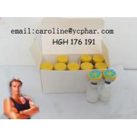 Buy cheap Pharmaceutical grade 99% purity    Peptide HGH 176-191 2mg Raw Steroid Powders For Body Shape CAS:57773-63-4 from wholesalers