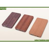 Wholesale OEM 5000mAh Walnut Wooden Power Bank For Mobile Phone Rechargeable Charger from china suppliers