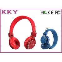 Wholesale Professional Red / Pink Cordless Stereo Headphones / Sports Headphones from china suppliers