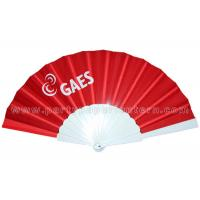 Wholesale Birthday Celebrations / Holiday Parties Hand Held Fabric Fan Decorative from china suppliers