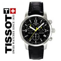 Wholesale Male Leather Quartz Analog Watch Tissot , Round Branded Wristwatch from china suppliers