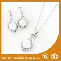 Wholesale 925 Sterling Silver Jewelry Set With Infinity Love Neckalce Rings And Earrings from china suppliers