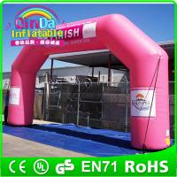 Wholesale Outdoor advertising Inflatable arch for events outdoor events promotion inflatable arch from china suppliers