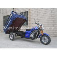 Wholesale Water Cooled Three Wheel Cargo Motorcycle Trike 5 Speed Single Exhaust System from china suppliers