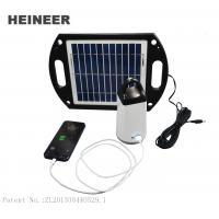 Wholesale Portable Solar Lantern with 4W ABS frame solar panel,5V 1AH USB output from china suppliers