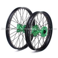 Wholesale Aluminum Alloy Black Custom Motorcycle Wheel Hubs For Kawasaki KX 125 250 from china suppliers