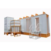 Buy cheap Automatic Spray Booth  With Cyclone Filter Recovery System from wholesalers