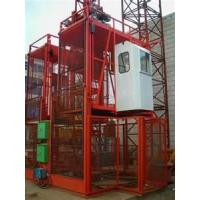 Wholesale passengers building construction rack pinion elevator 2tons lifting equipment from china suppliers