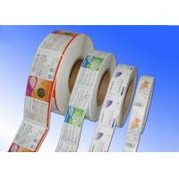 Wholesale Heat Sensitive Adhesive Paper Stickers , Adhesive Label Paper For Protective Film from china suppliers