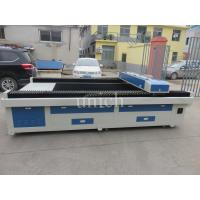 Quality 1300 * 2500mm laser engraving and cutting machine / plastic fabric cnc co2 laser engraving machine for sale