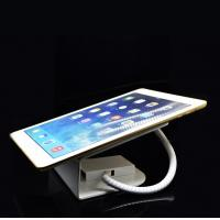 Wholesale White color universal alarm secure/security tablet stand with charging from china suppliers