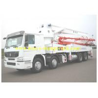 Wholesale Howo Truck mounted Cement Pump 28m Boom 700L Hopper Capacity from china suppliers
