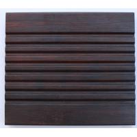 Quality outdoor carbonized strand woven bamboo flooring for sale