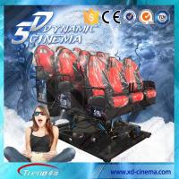 Wholesale 2250 Watt 220 Volt 5D Cinema Equipment , 5D Motion Ride With Surround Sound For Game from china suppliers