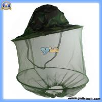 Wholesale Camouflage Fishing Hat Net Mask Fly Insect Mosquito Bee-K00813 from china suppliers