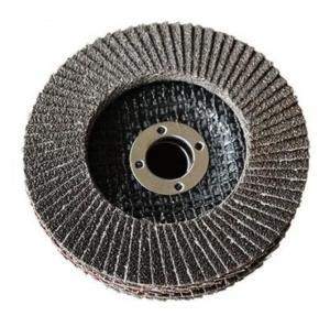 China Calcined Aluminium Oxide Flap Disc Abrasive Blaze R980P Coarse Grit Center Mount Plastic Flat Flap Disc on sale