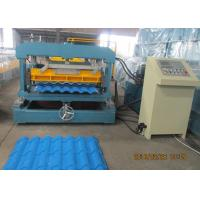 Wholesale Glazed Metal Tile Forming Speed 4m/min  Roof Tile Roll Forming Machine 380V/3Phase/50HZ from china suppliers