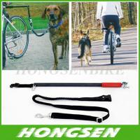 Wholesale HS-D01 Running retractable China dog training bike leash walking bike dog leashes from china suppliers