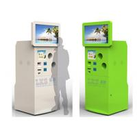 Wholesale Self Bottle Recycling Machine Totem Touch Kiosk With Touch Screen Standing from china suppliers