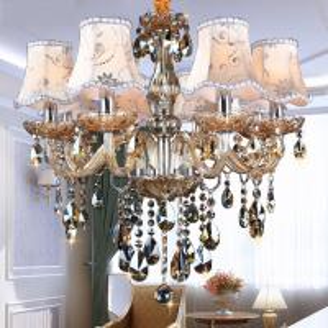 Wholesale Modern Chandelier Lighting K9 lustres de cristal moderne lustre for home lighting Bedroom Kitchen Dining Crystal from china suppliers