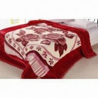 Wholesale Multifunction Raschel Blanket, Customized Materials, Designs and Weights are Welcome from china suppliers