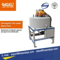 Wholesale ISO Approved Waste Tire Recycling Dry Powder Magnetic Iron Separator Energy Saving. from china suppliers