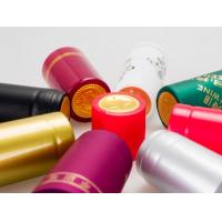 Wholesale Glass Red Wine Bottle Foil Capsules Heat Shrink Bottle Caps Eco Friendly from china suppliers