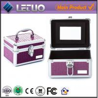 Wholesale LT-MC326 makeup artist train case eyelash cil ciglio bulu mata storage packaging case from china suppliers