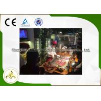 Wholesale Induction Mobile Teppanyaki Grill Table Electrostatic Fume Down Exhaustion from china suppliers