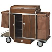 Wholesale Brown Room Service Trolley For Hotel from china suppliers