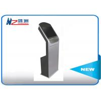 Wholesale Touch Screen Self Service Computer Kiosk , Hotel Lobby PC Stand LCD Digital Signal from china suppliers