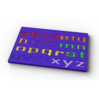Wholesale lowercase alphabet silicone jigsaw puzzle from china suppliers