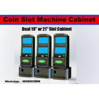 Buy cheap High rebuy rate LCD screen casino slot game machine indoor gambling game cabinet from wholesalers