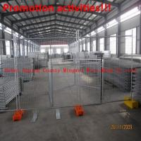 Wholesale Australia or Canada high standard galvanized  temporary fence(100% professinal factory) from china suppliers