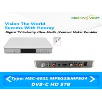 Wholesale Cardless HD MPEG-4 DVB C 1080p Set Top Box With Hisilicon Chipset Support PVR from china suppliers