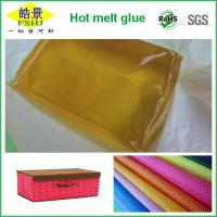 Wholesale Fabric Binding Hot Melt Adhesive Glue , PSA Pressure Sensitive Adhesive Block from china suppliers