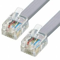 Buy cheap High Speed 2M RJ11 6P2C Telephone cord Modem Line Cord Cable 6 Pin from wholesalers