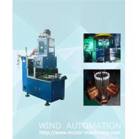 Quality Induction motor pump stator automatic coil winding coil making machine with servo system for sale