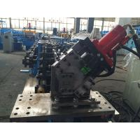 Wholesale Adjustable C Channel High Speed Roll Forming Machine With Hydraulic Decoiler 2.0mm thickness from china suppliers