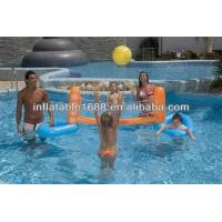 Wholesale School Tarpaulin Inflatable Sports Games , Volleyball Court / Volleyball Sporting from china suppliers
